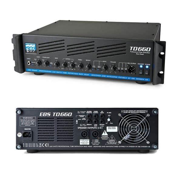 EBS TD650 bas top huren