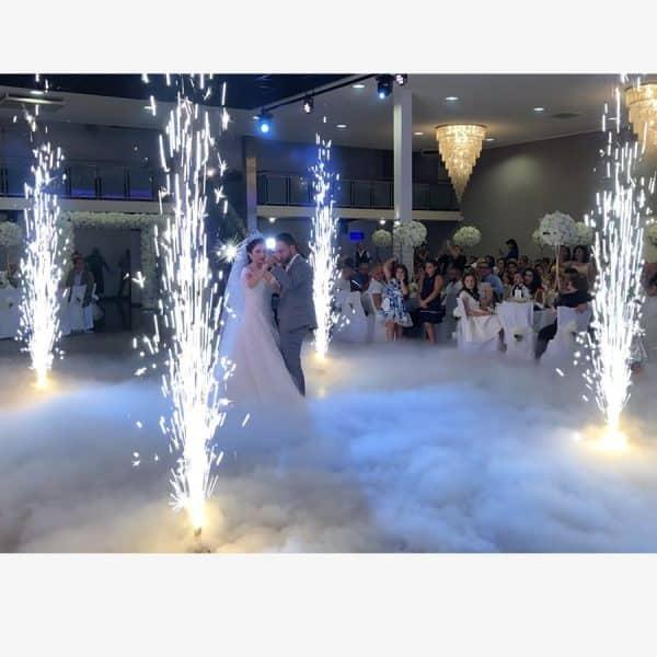 Vuurwerk effect bruiloft huren