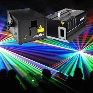 full color laser show huren