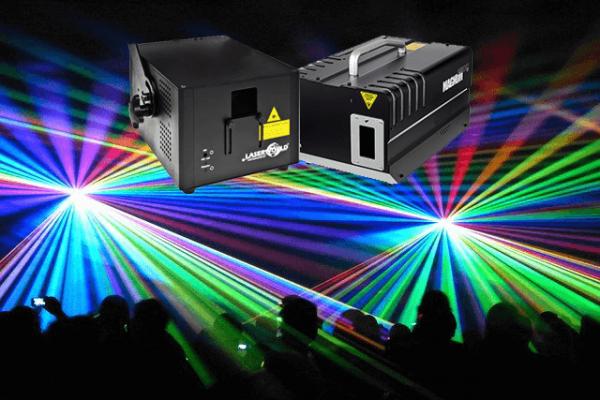 full color laser show huren